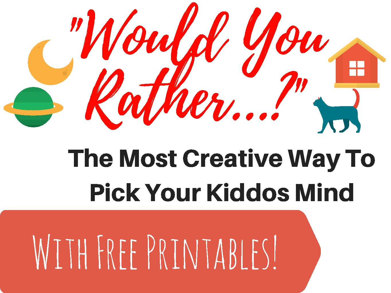 photograph regarding Would You Rather Questions for Kids Printable named Would On your own Very Concerns For Children and For Babies